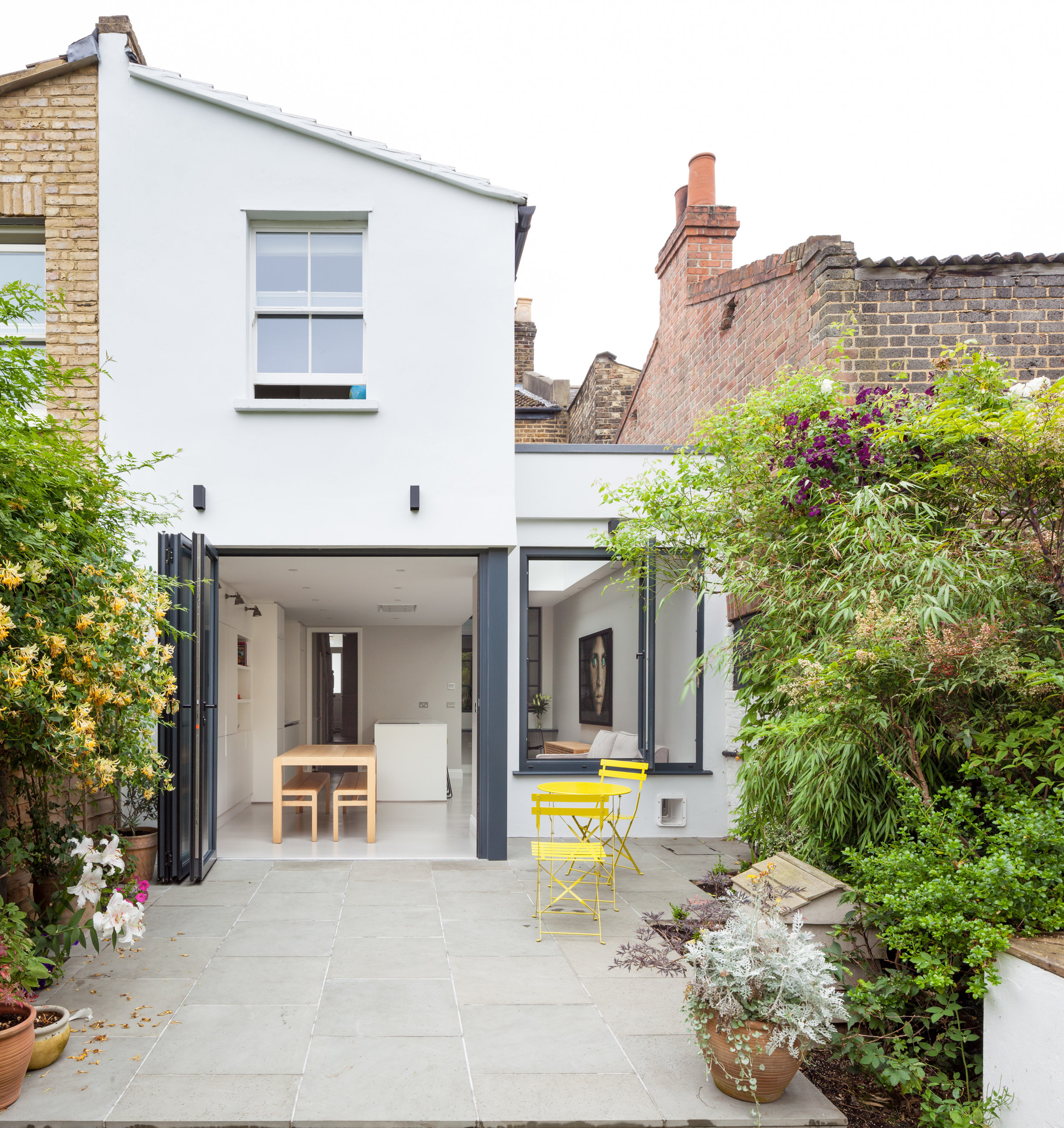 Crisp White Extension by Thomas & Spiers