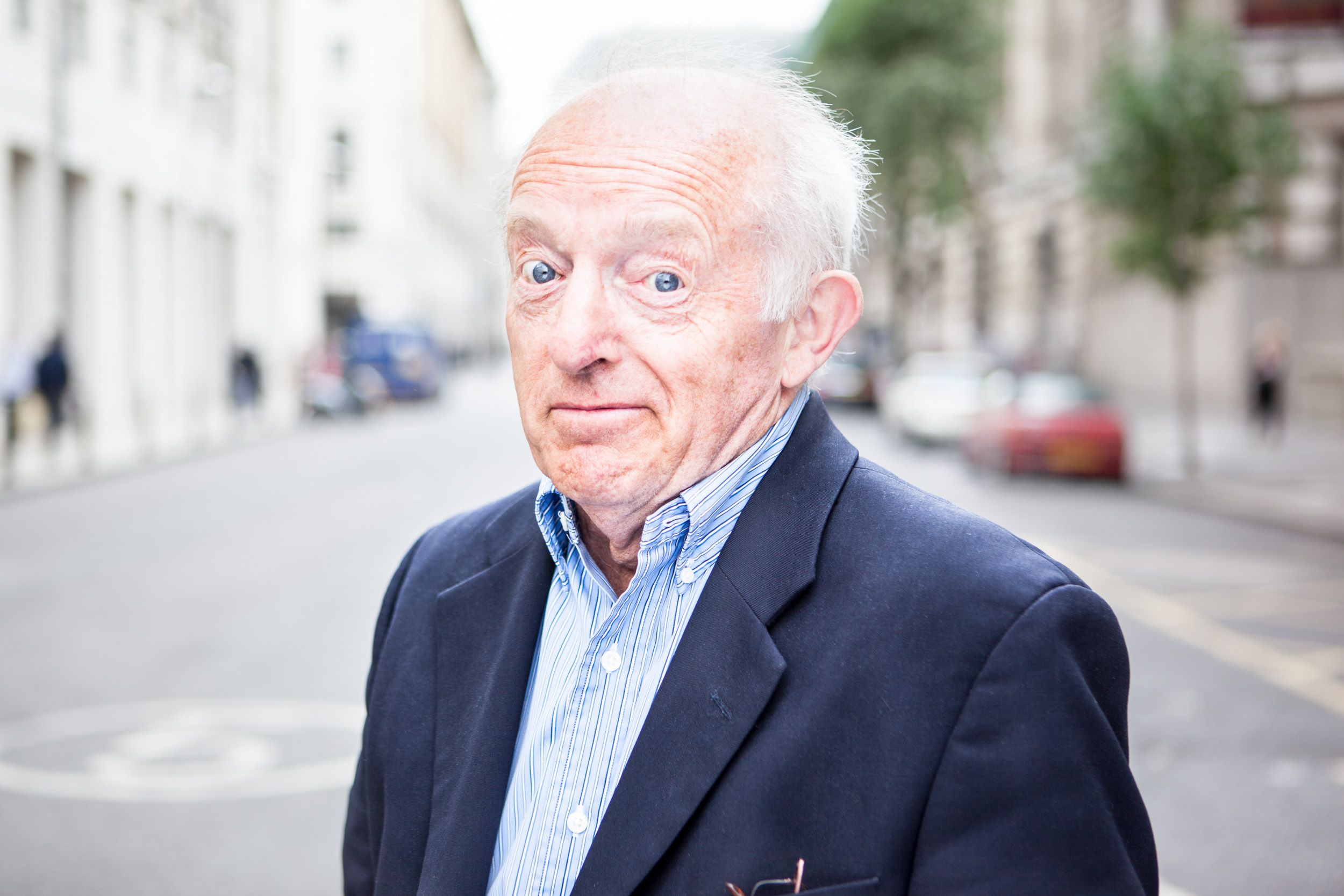 Paul Daniels portrait by James Whitaker