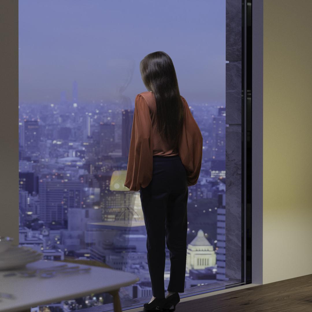 Whitaker Studio Tokyo Penthouse visualisation