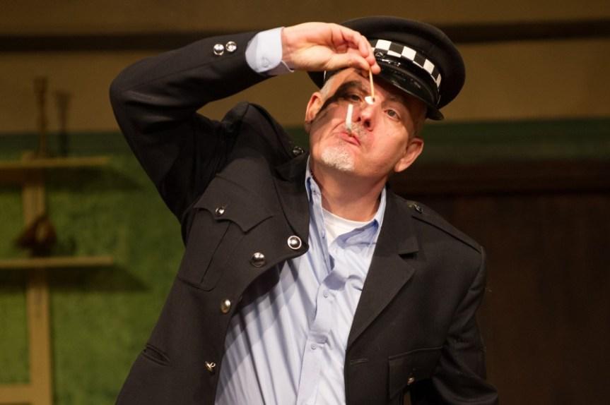 Law and disorder - Bryn Thomas as Gifford
