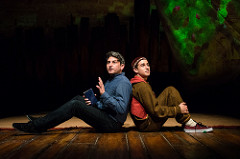 David Ahmad and Jo Ben Ayed in The Kite Runner