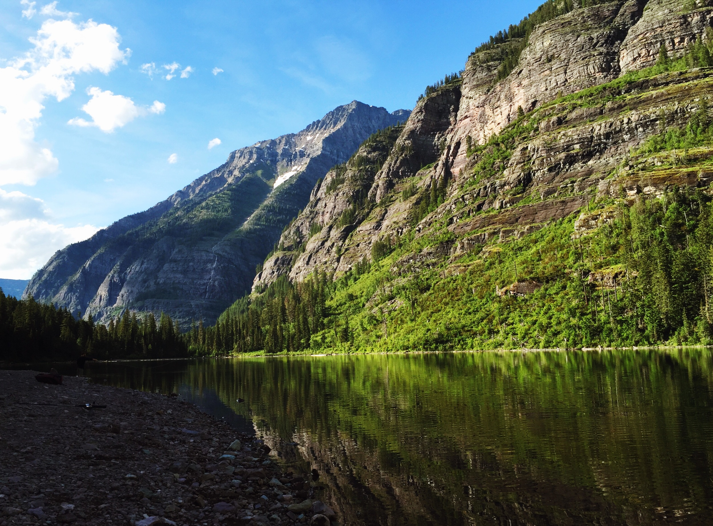 Avalanche Lake, Glacier National Park.