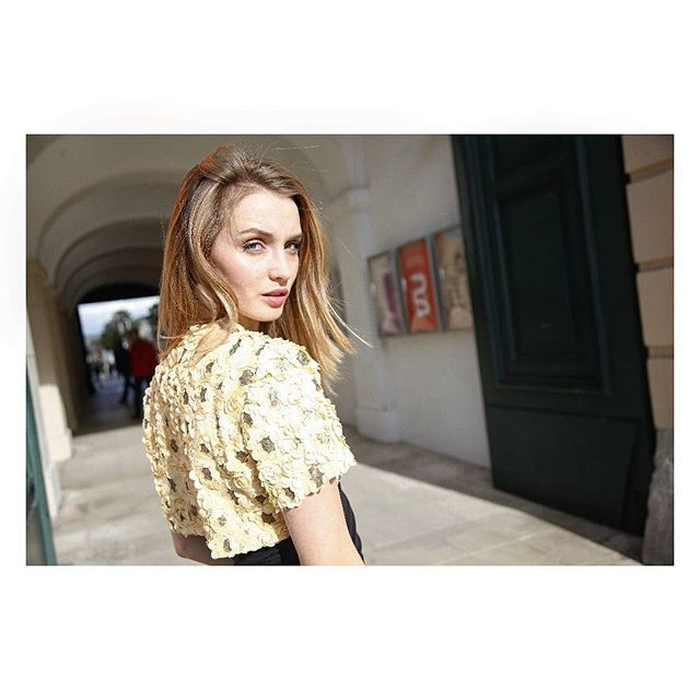 🌻 Bolero 🌻 Photo: @claudia_prieler Model: @hanna.gum