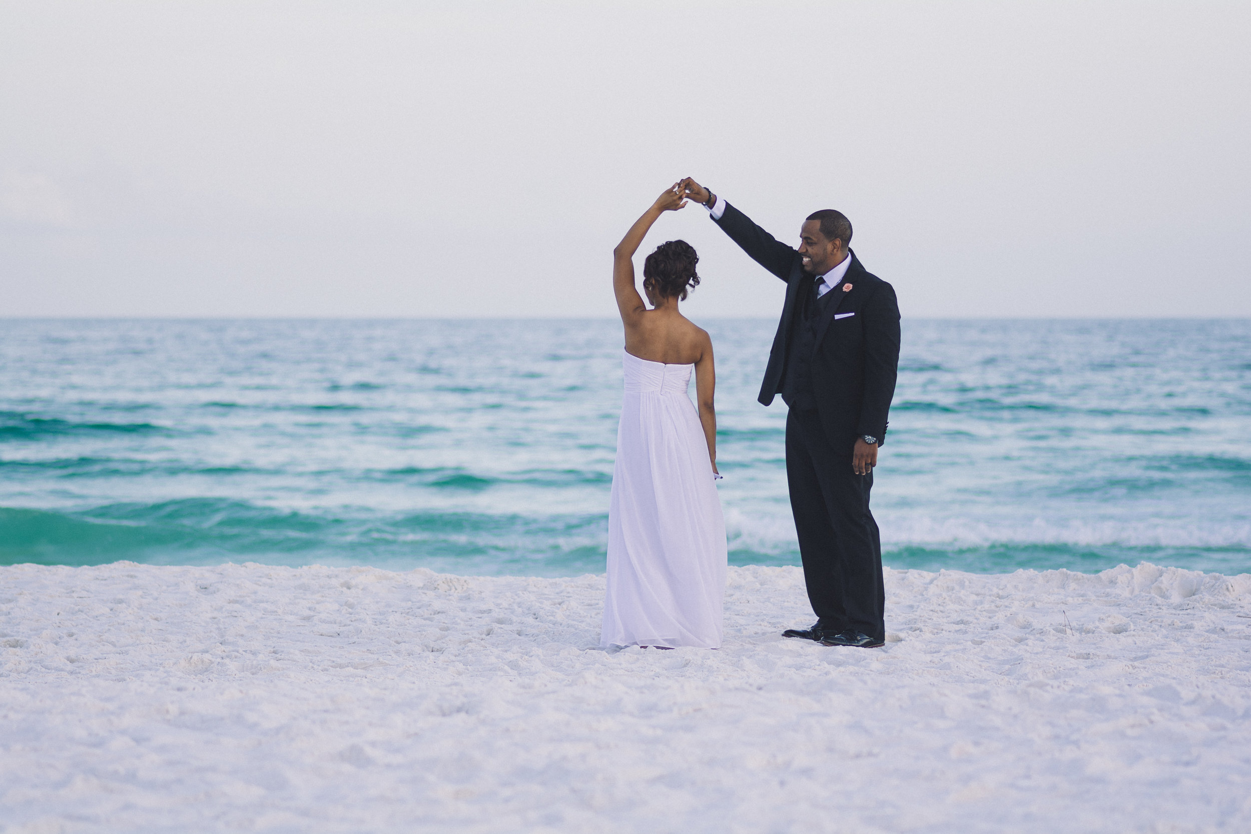 Coastal Elopement - Quanteria & Brandon