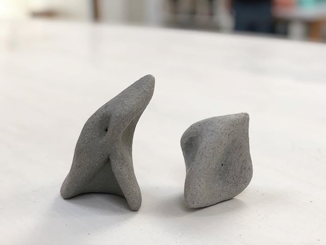 🦠 #form #ceramicsculpture #clay