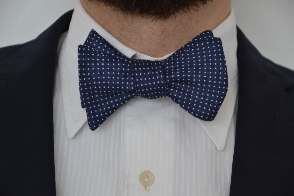 Dotted Navy