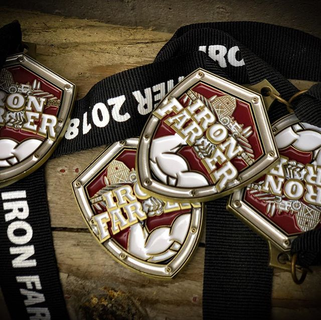 Custom Iron Farmer medals are in!!! 🏅🏅🏅Will you get one around your neck November 17th?!? Lets represent in our 696 gear on the course!!! SIGN UP ONLINE NOW! Every racer gets a custom medal and bib! About 2 miles of trail running with farm tough tasks / obstacles at @redapplefarm to kick off the Thanksgiving Harvest Festival! Bring your friends and family for a great event and an awesome fall day at the best farm around! 🍂🍁👨‍🌾🍎🏃🏼‍♂️🏃🏼‍♀️🏃🏼‍♂️🏃🏼‍♀️#ironfarmer #fitnessconceptshealthclub #fitnessconcepts #crossfit696 #redapplefarm #harvestfestival #fall #ocr #trailrunning #trailrace #family #thanksgiving
