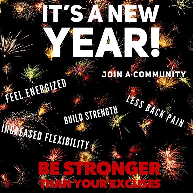 Where do you want to be this new year? We hope it's one step closed to your goals and we are hoping we can help get you there. #fitness #fitnessconceptshealthclub #fitnessconcepts #newyear #goals #movebetter #feelbetter #bebetter