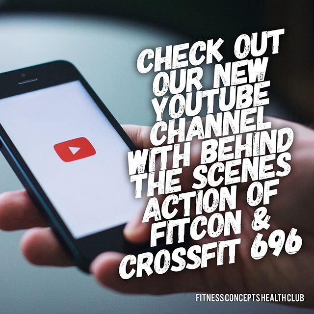 Subscribe to our new youtube channel now as we have a video releasing tomorrow that you wont want to miss!🙌🏼 #youtube #subscribe #fitness #fitnessconceptshealthclub #fitnessconcepts #staytuned