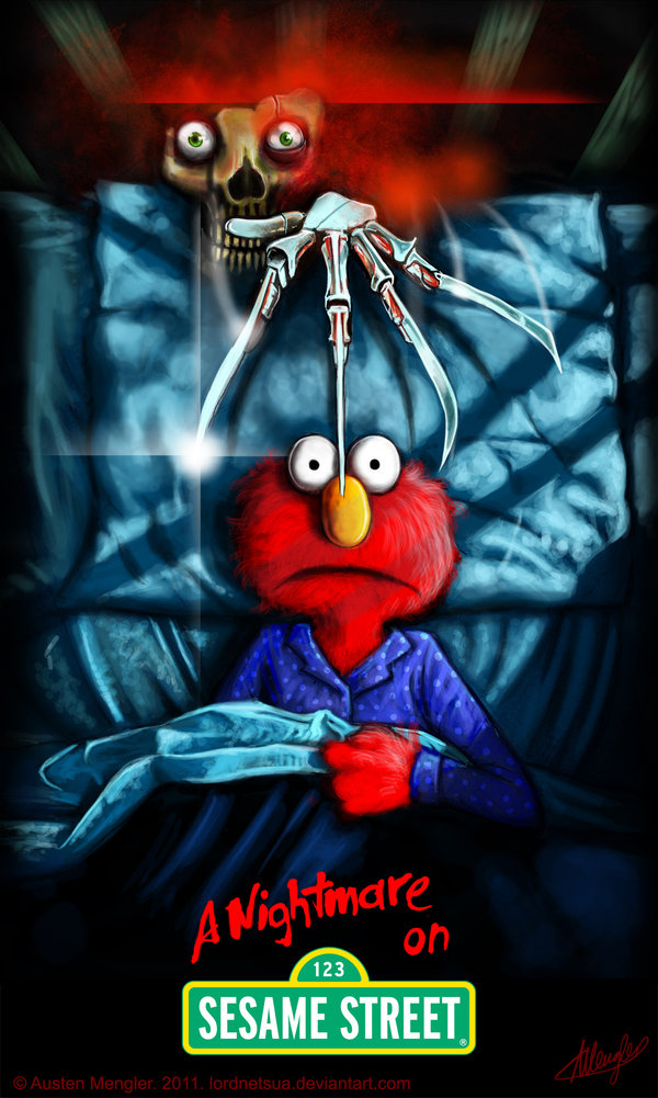 A Nightmare on Sesame Street