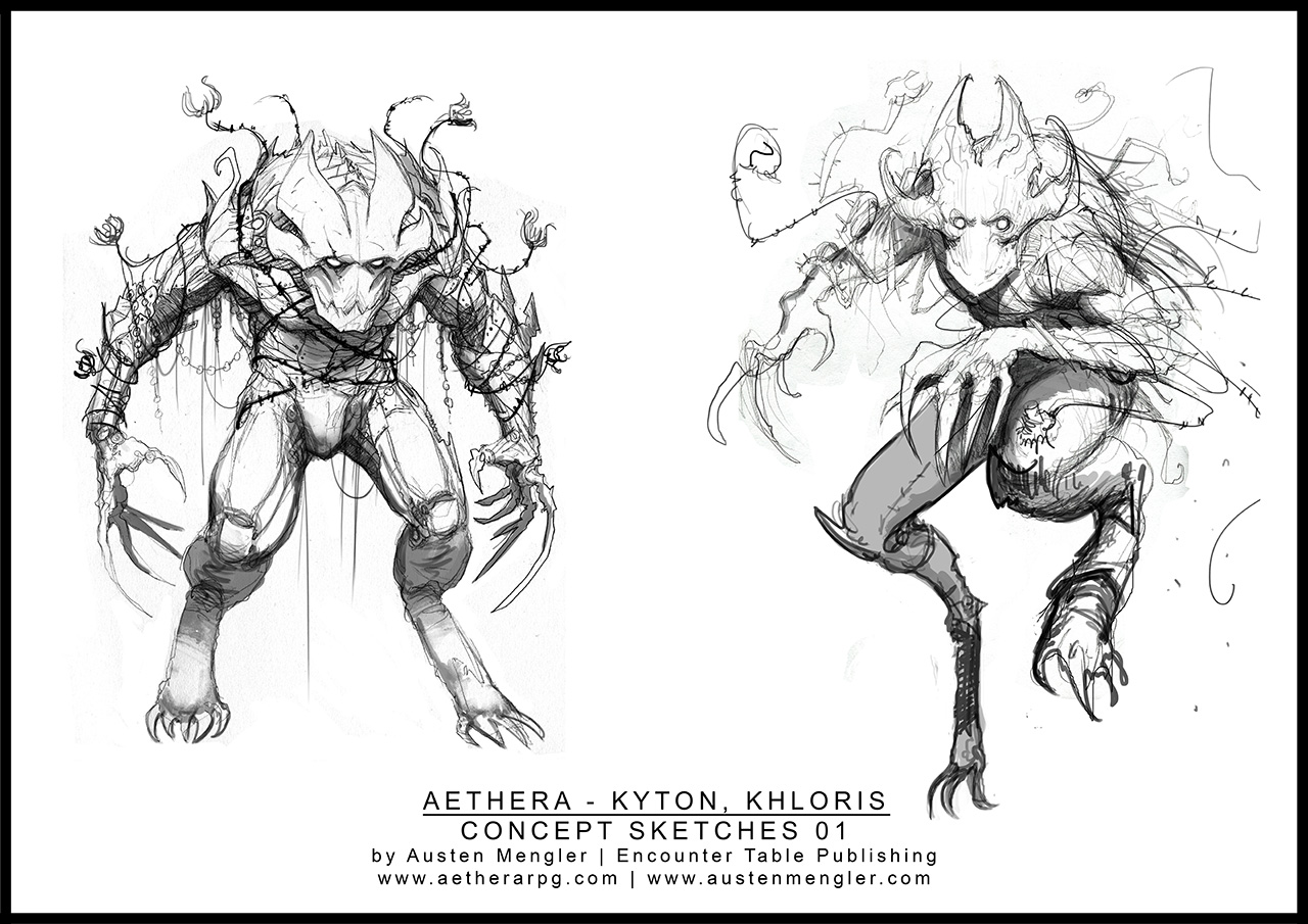 KHLORIS - Concept Sketches 01