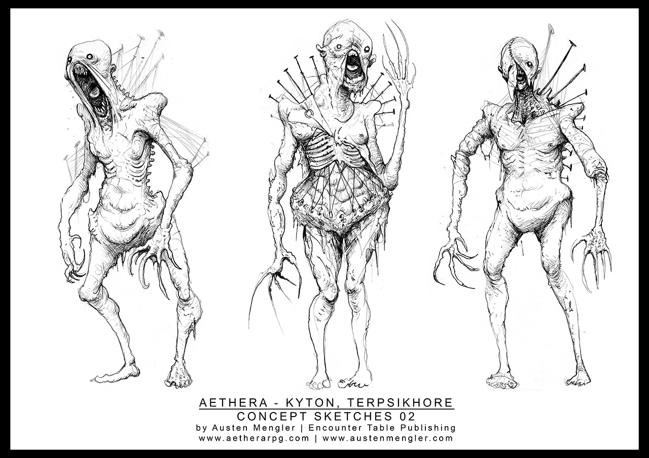 TERPSIKHORE - Concept Sketches 02