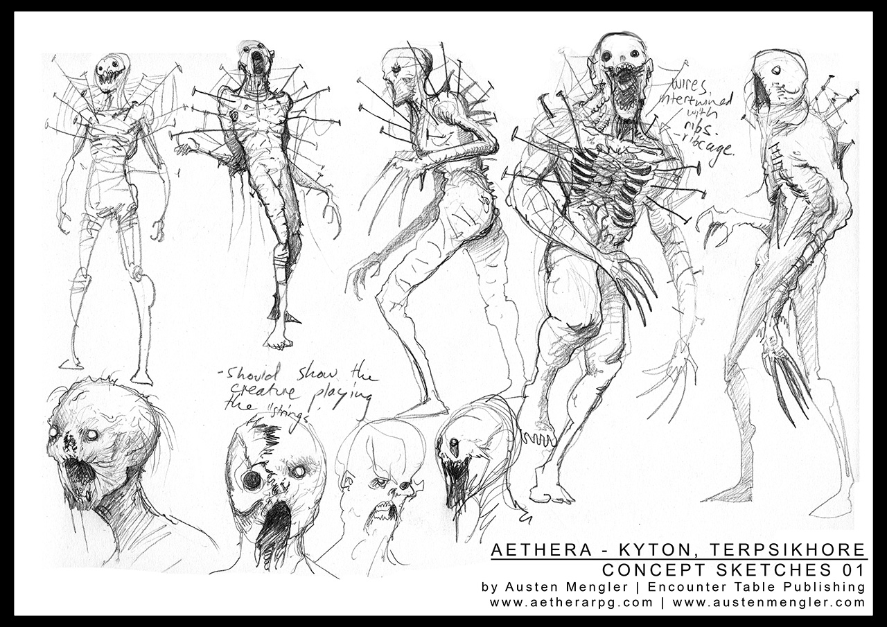 TERPSIKHORE - Concept Sketches 01