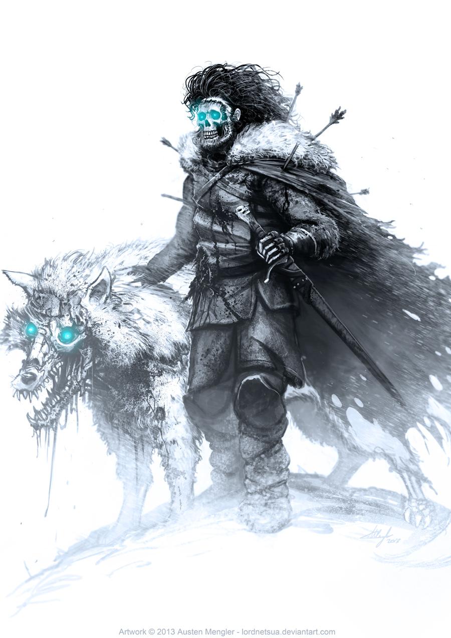 jon-snow-by-austen-mengler