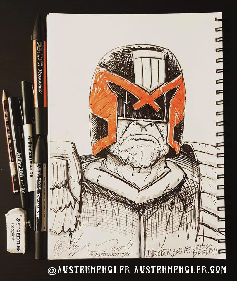 Day 02 - Judge Dredd