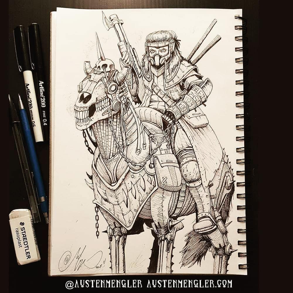 Day 15 - Mounted Warrior