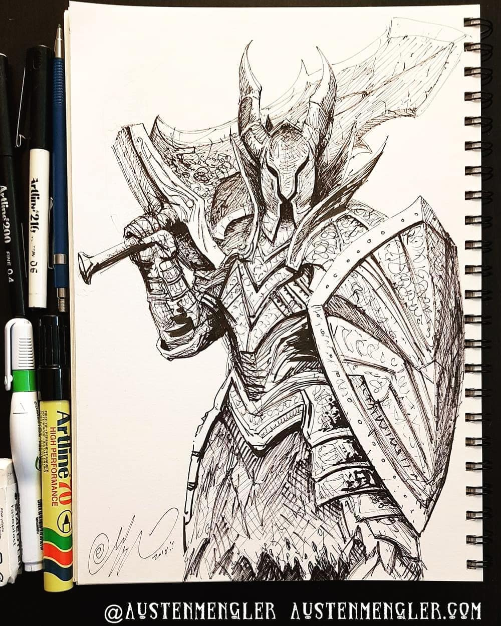 Day 17 - Black Knight