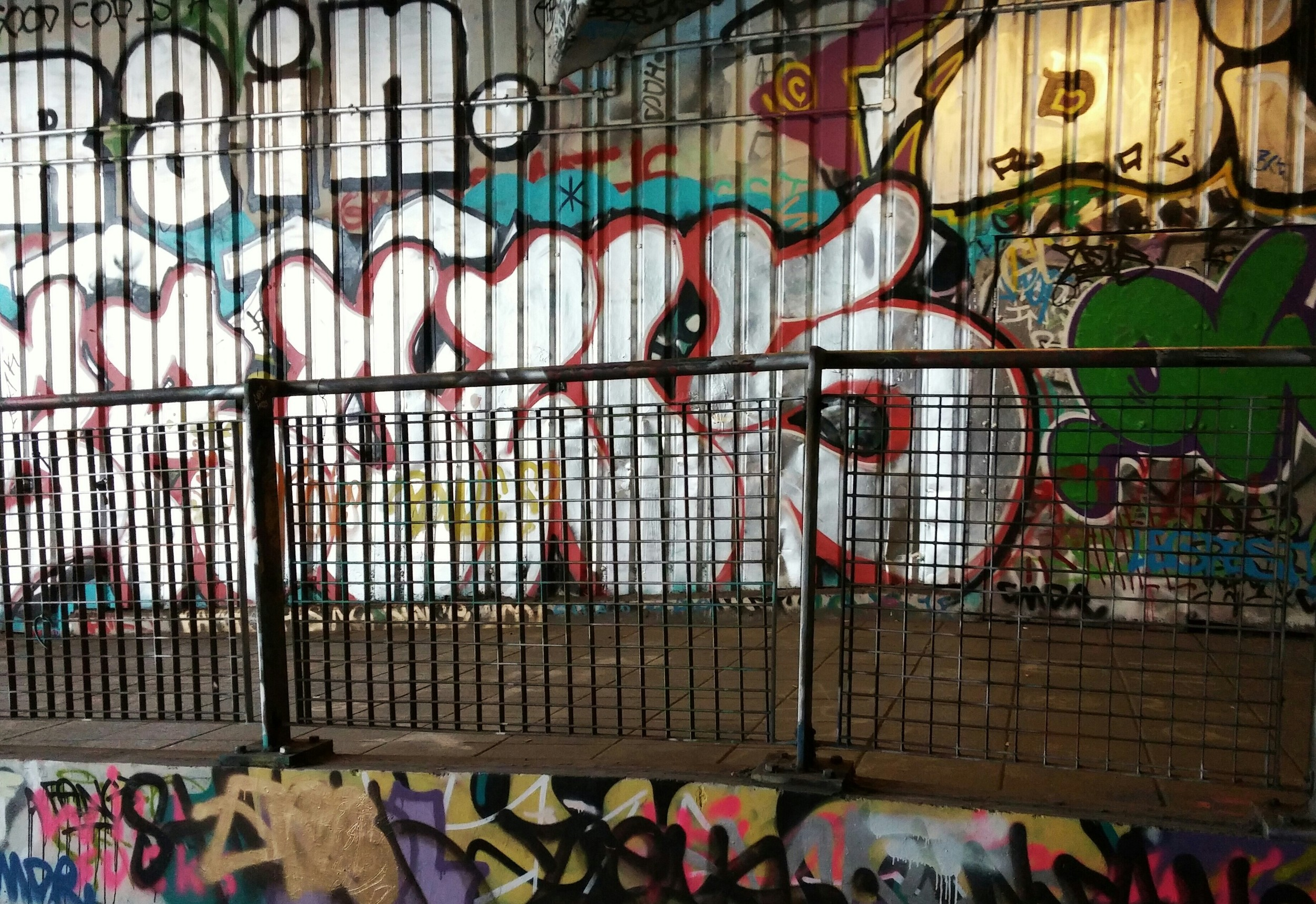 Our tour guide took us to the underground subculture of London. The authorities have allowed graffiti in this single tunnel, just behind the London Eye. Blooming artists repaint the entire tunnel at least once a week.