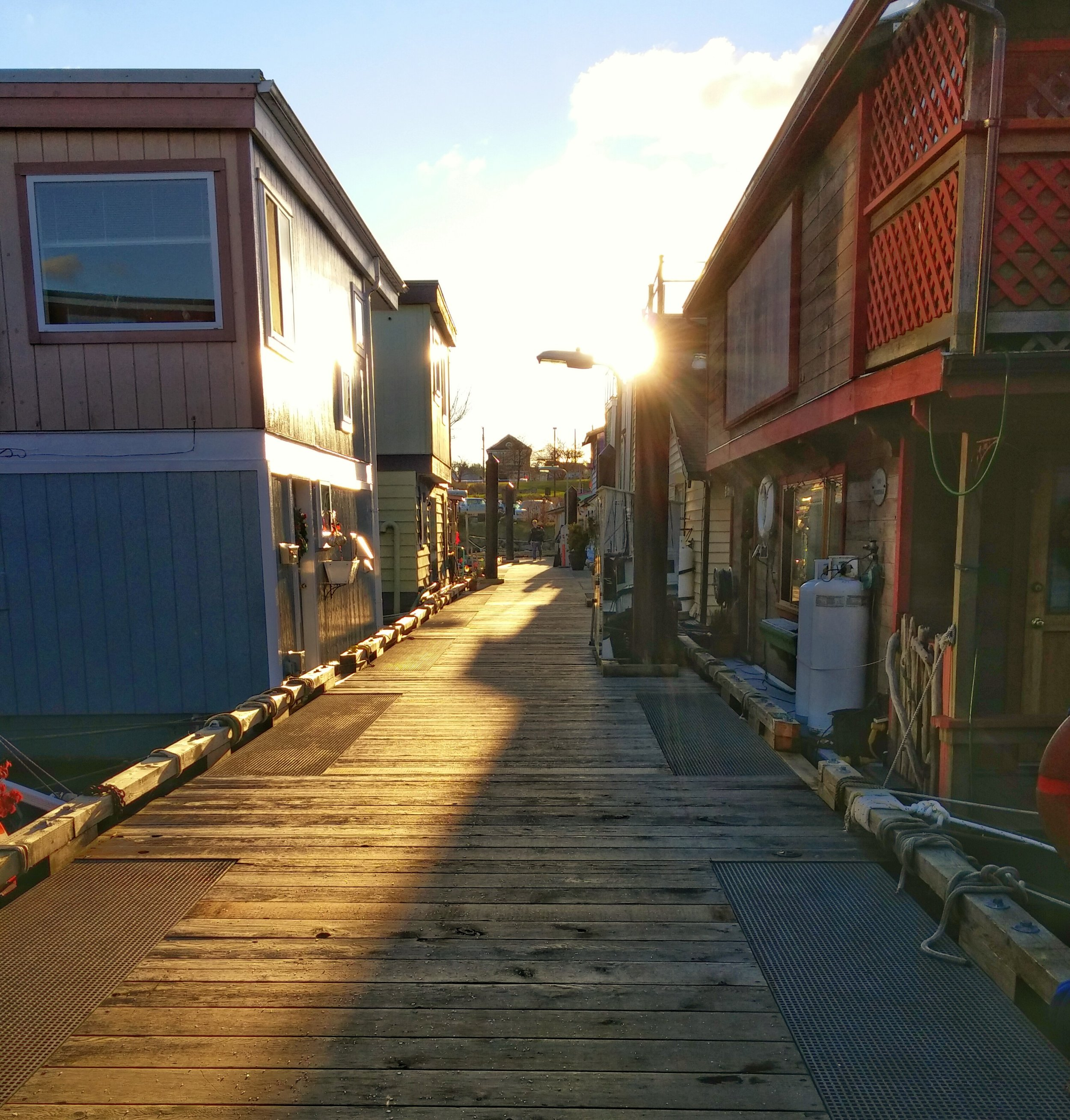 Fisherman's Wharf: the Village of Floating Houses.