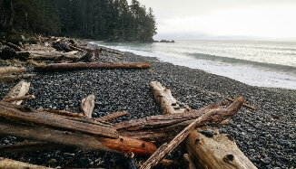 French Beach. Another special place along the beautiful Sooke Road.