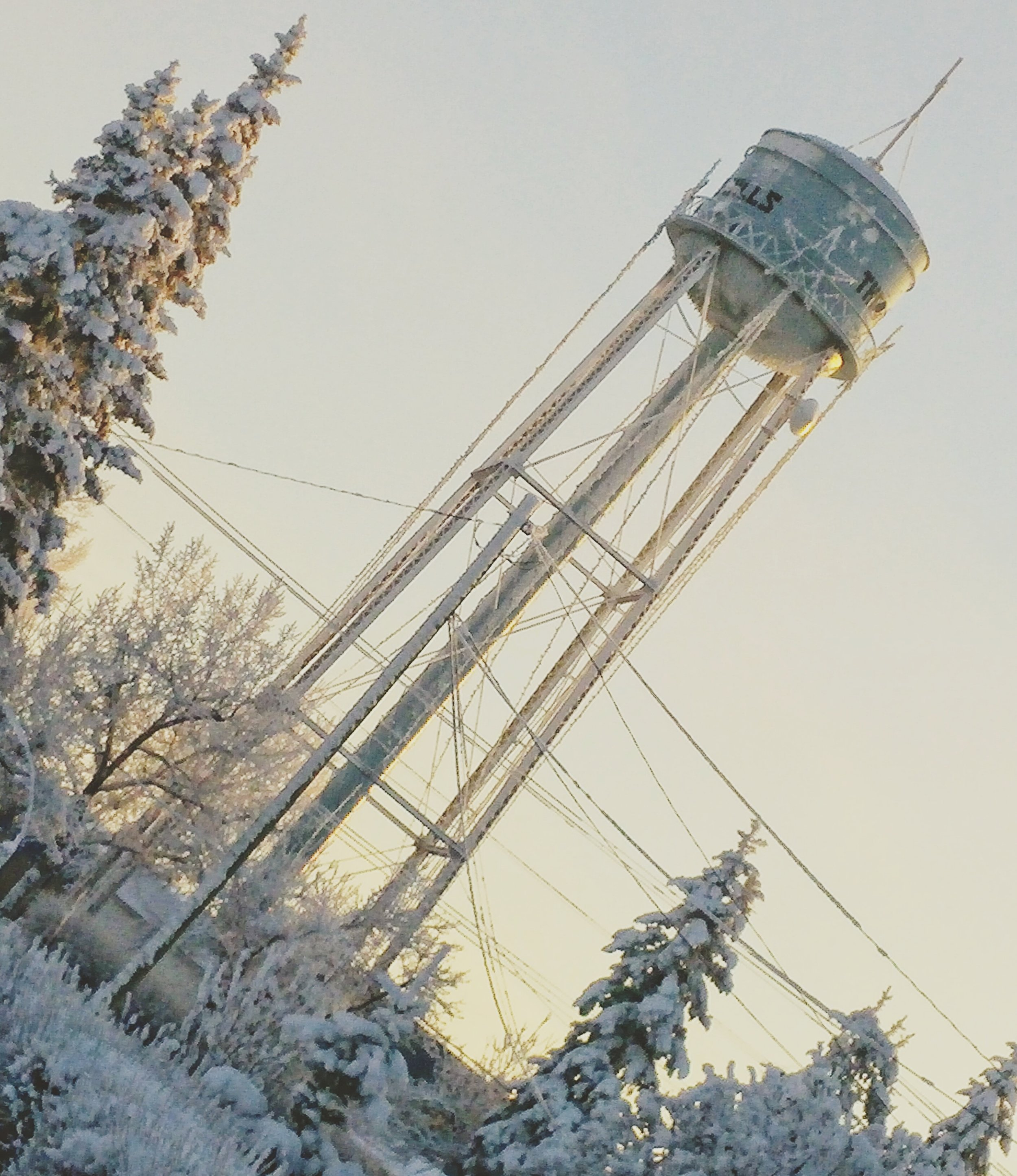 This water tower is the pinnacle of my small town of Three Hills, Alberta.