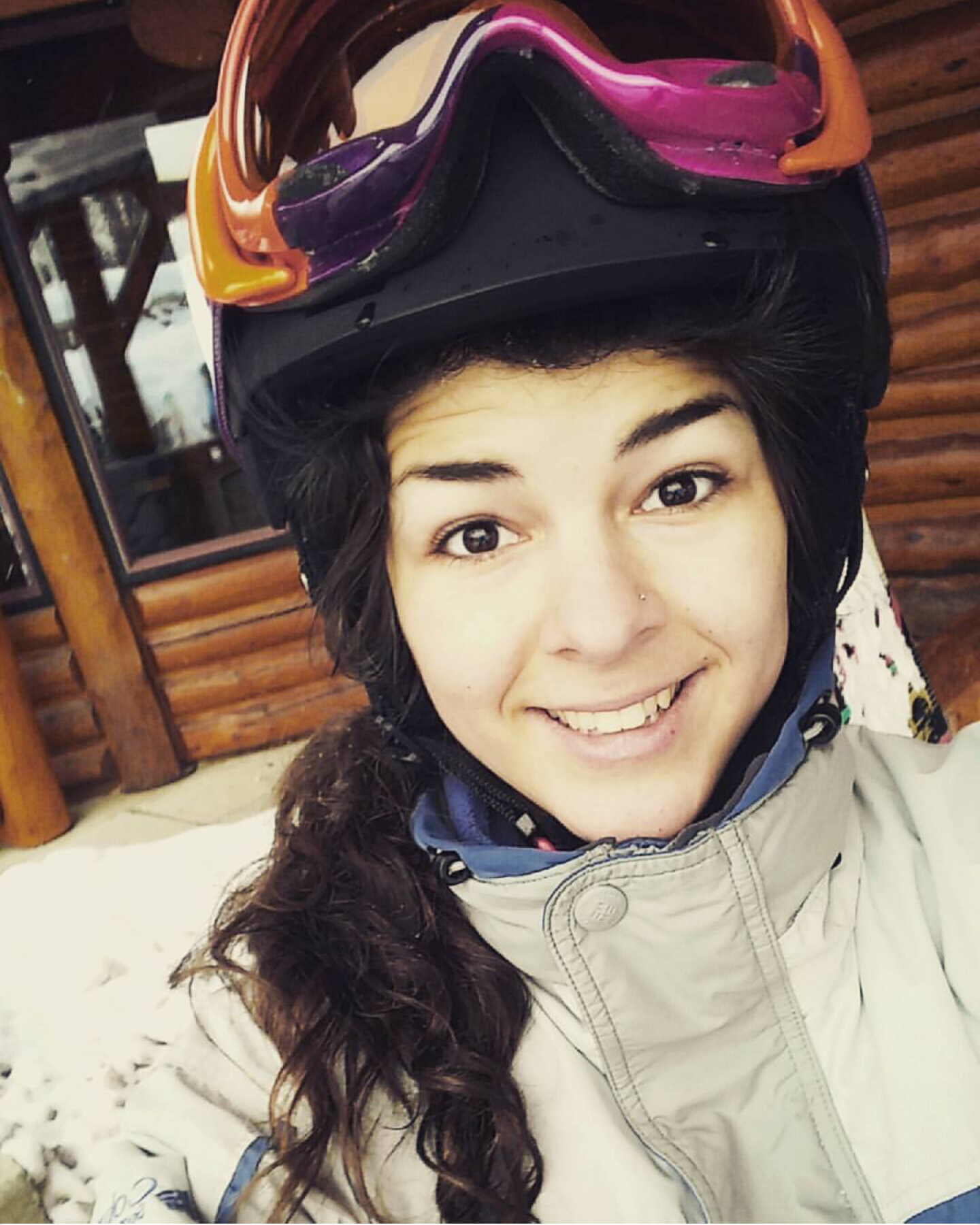 I'm not very good- but snowboarding sure was a blast!