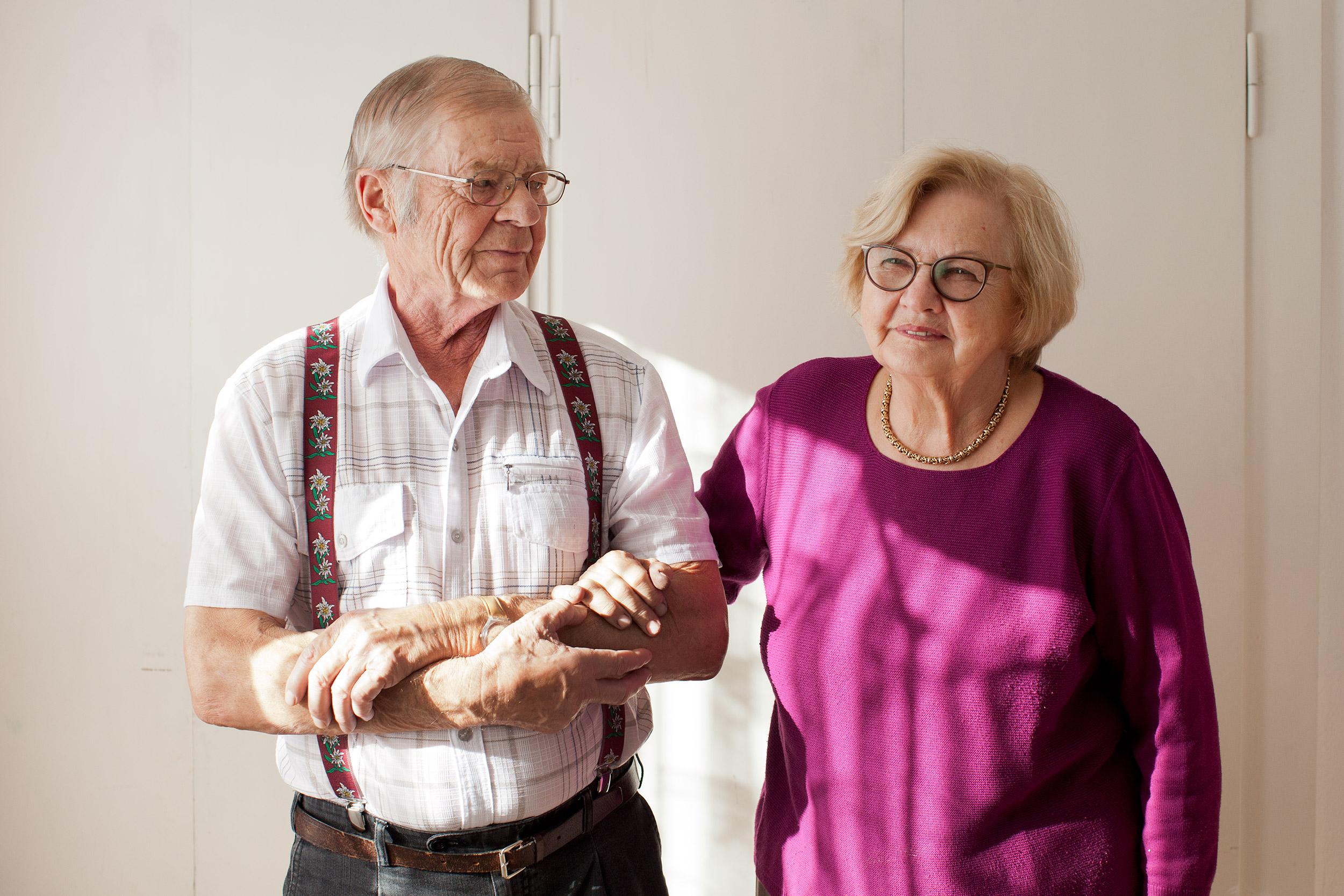 Heikki und Gertrud Määtänen