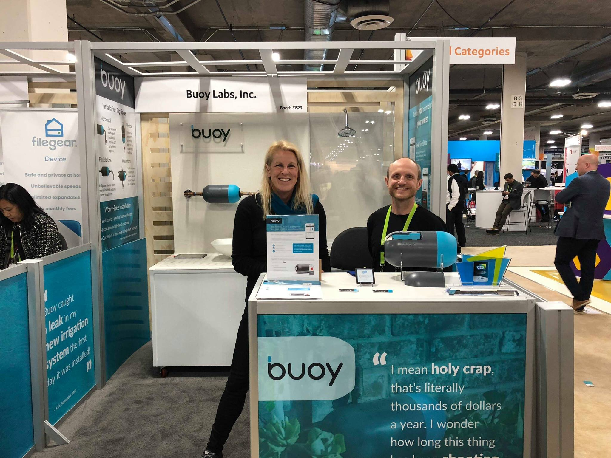 Buoy at CES 2018