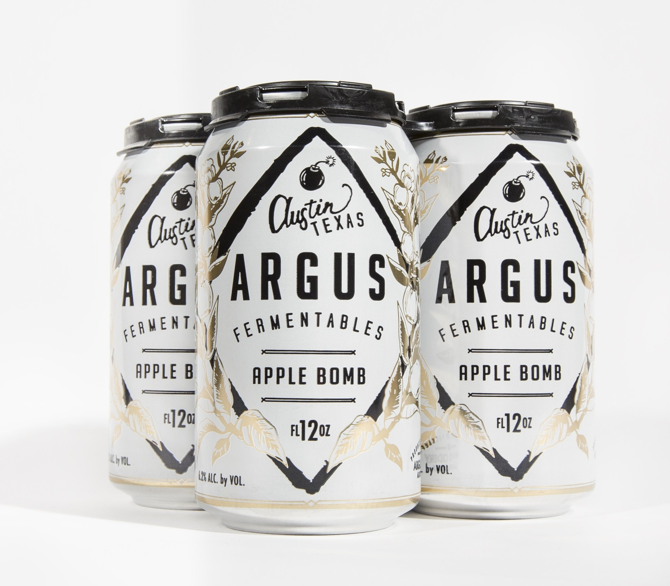 Apple Bomb Four-Pack Cans