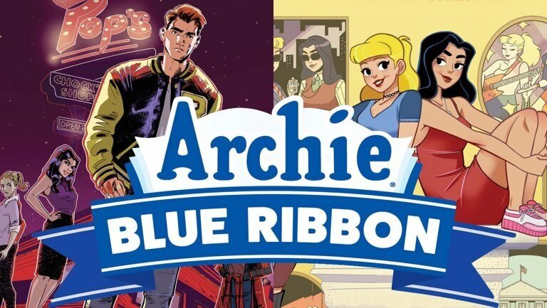The Hollywood Reporter Announces Archie Blue Ribbon Line of Original Graphic Novels - The Hollywood Reporter broke the news of Archie Comics' brand new OGN line, including Betty & Veronica: The Bond of Friendship written by me with art by Brittany Williams.