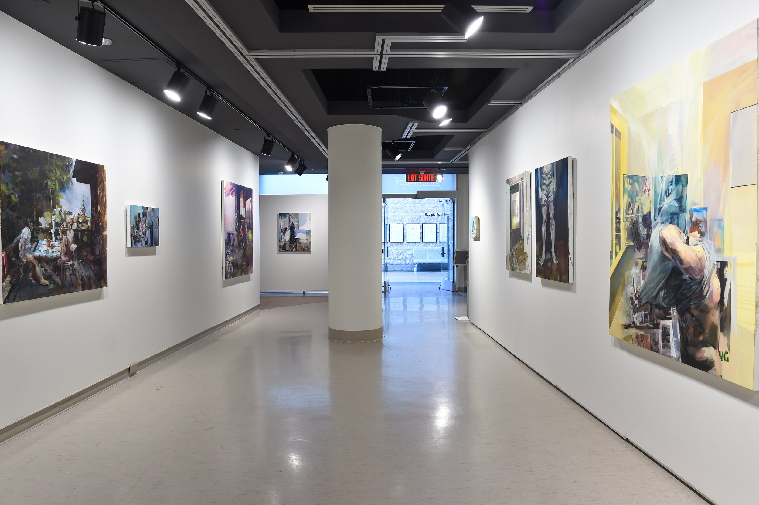 Painter, Painter Installation View, 2016, Karsh Masson Gallery (Photo Credit : City of Ottawa)