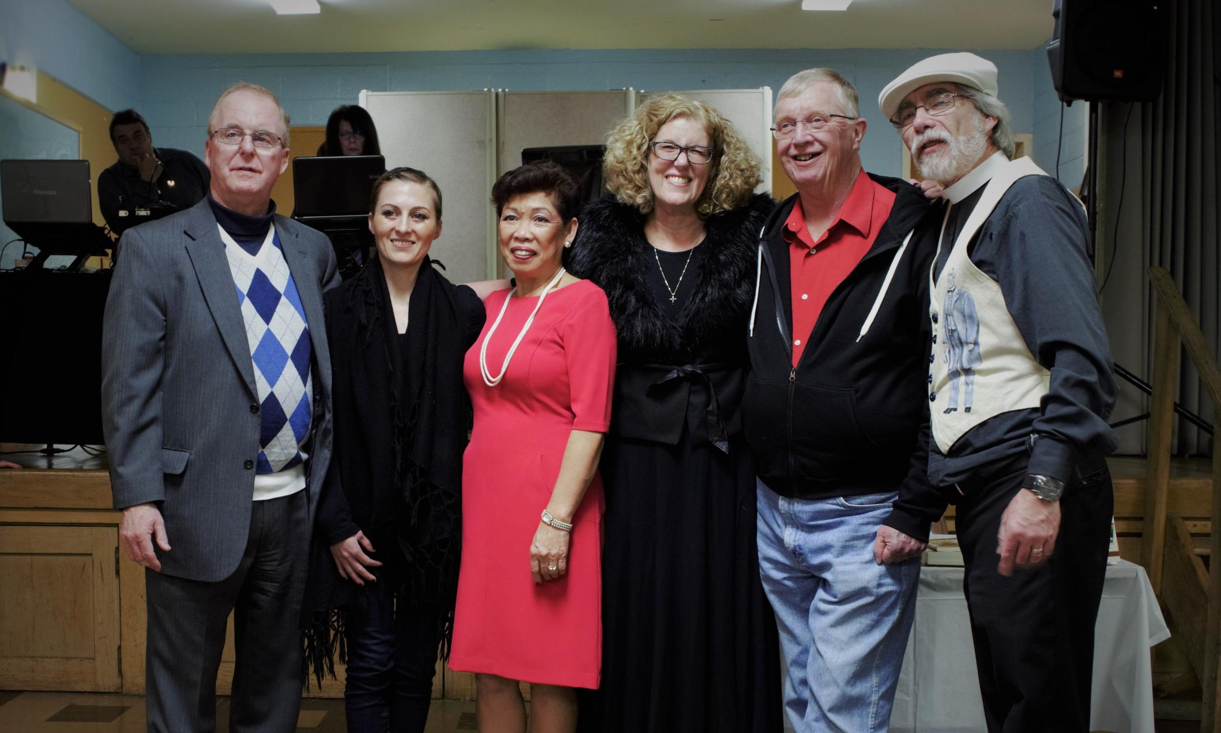 From Left: Lou Cox (Treasurer), Alexandria Tava (Vice President), Julie Cox (Founder), Pamela Pater-Ennis (President), Philip Melius (Member At-Large),Mark Ennis (Secretary).