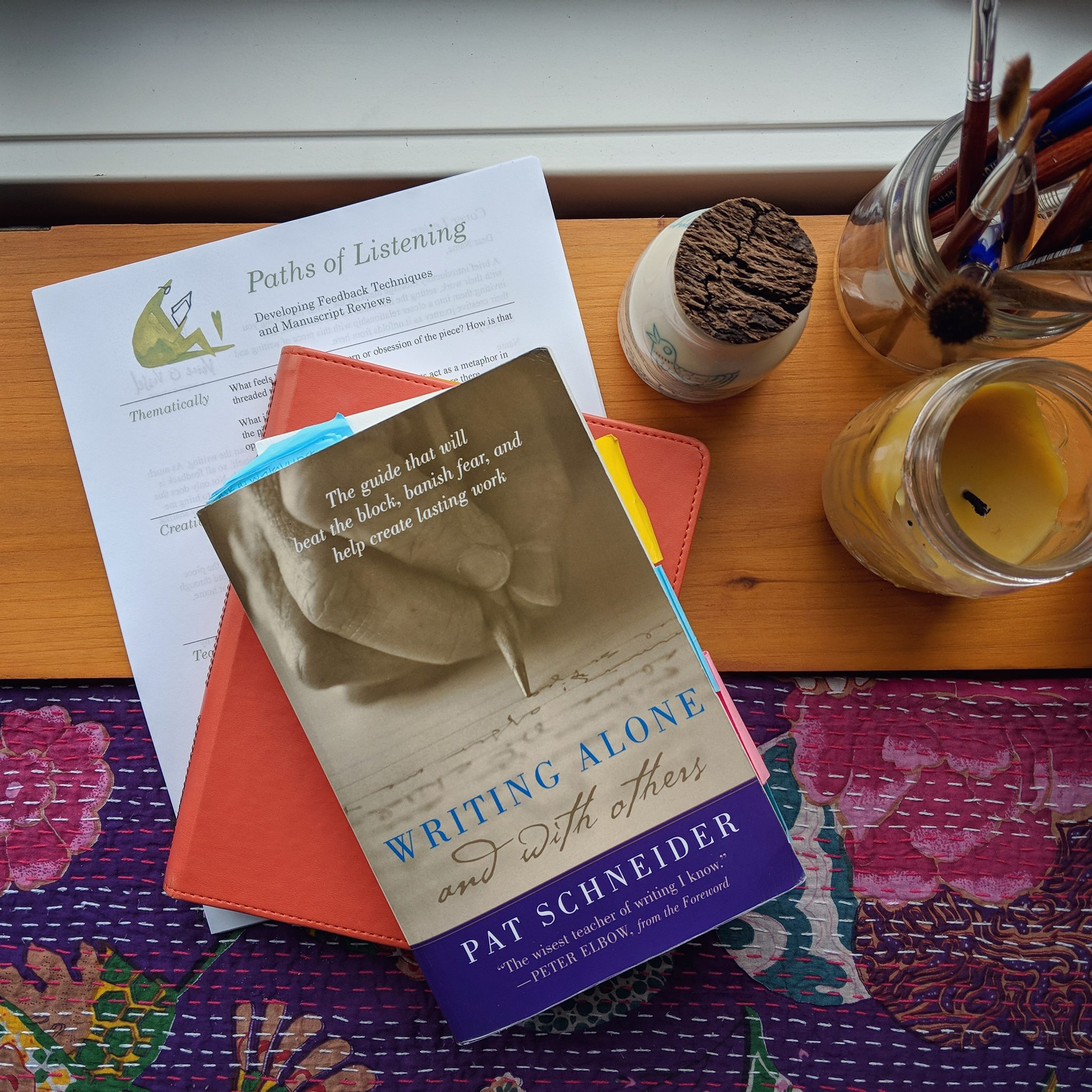 Writing Alone & With Others, by Pat Schneider, founder of Amherst Writers & Artists