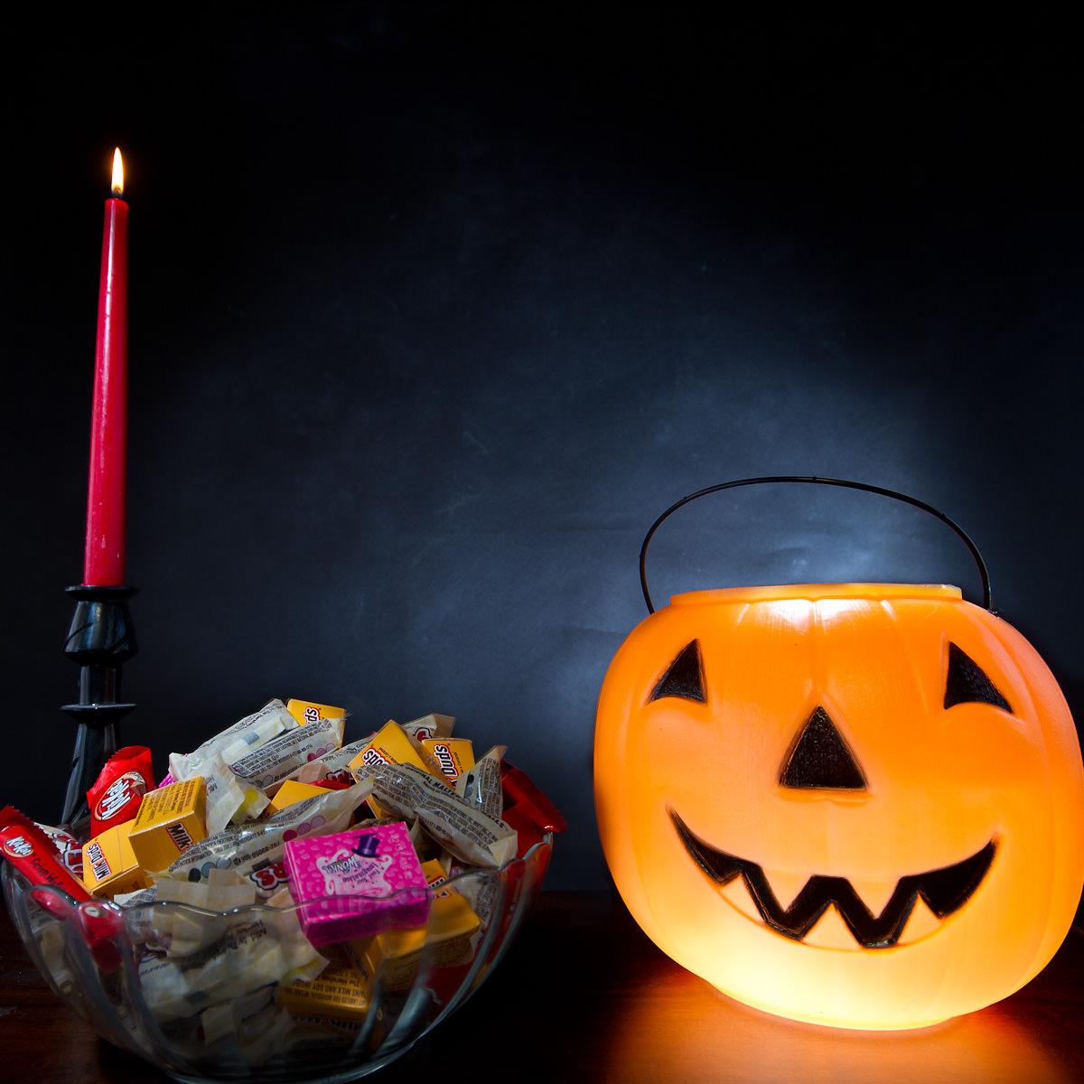 Halloween Shoot Staging