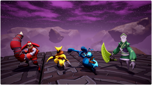 Fight your way in arena style combat and become the ultimate boomerang warrior.