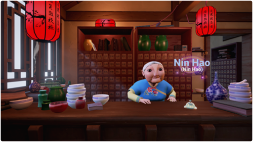 Manipulate the world with your words as you learn Mandarin in this exciting VR Experience.