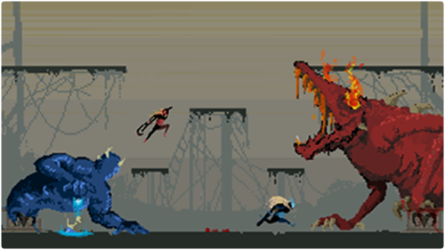 Take part in intense player vs player combat. sacrifice your opponent, feed your demon, and banish your rival forever.