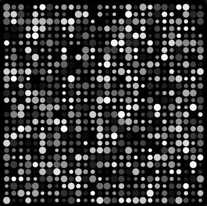 Pulsing Dots - P5.js Sketch