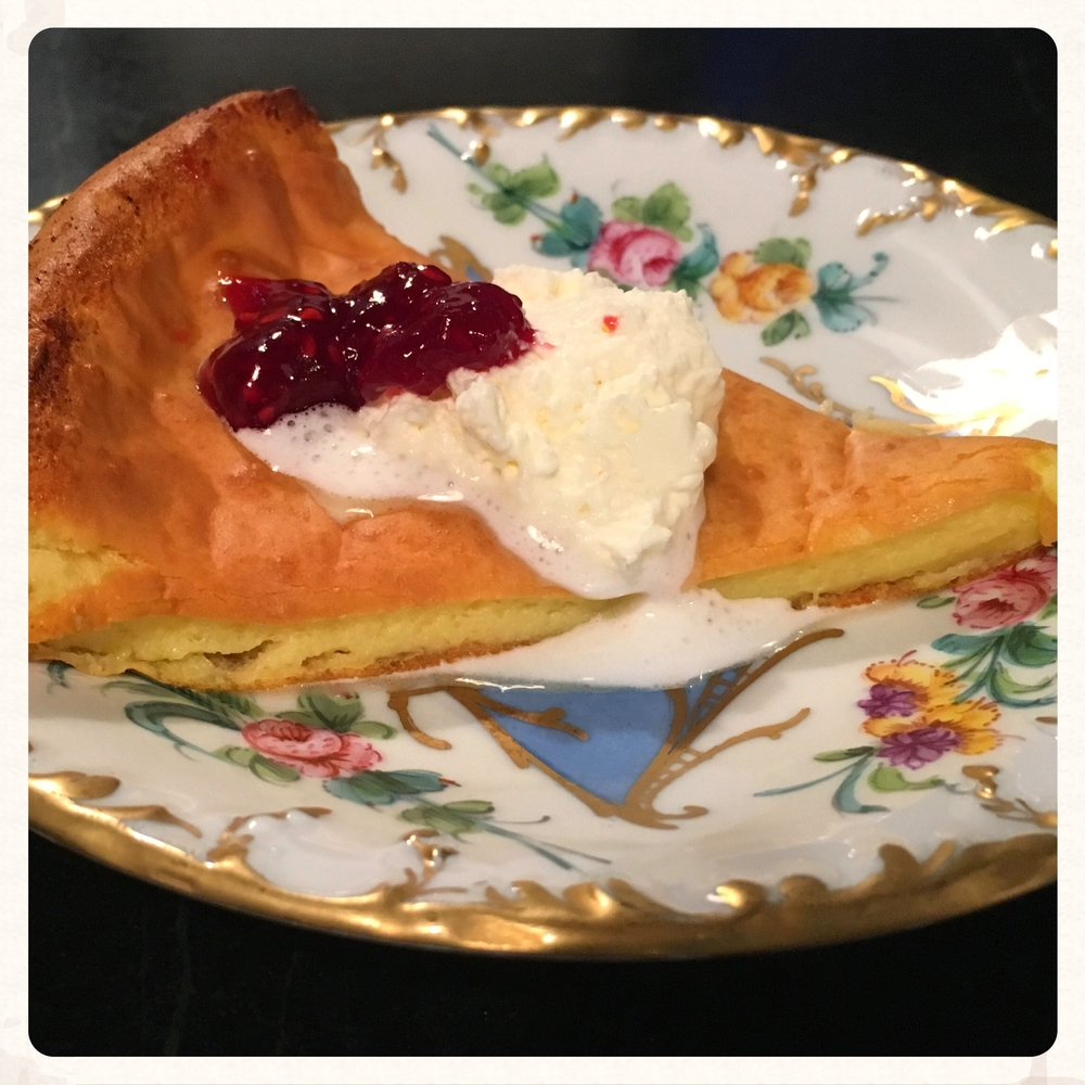 dutch baby - dessert or breakfast?