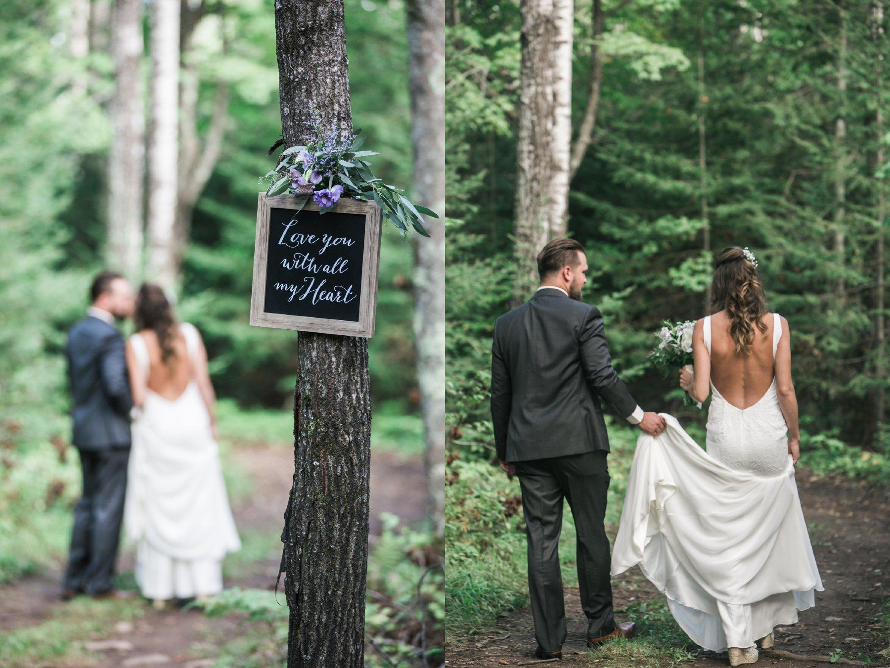 Kellie + Nick - Lovely Green Boho Chic Wedding