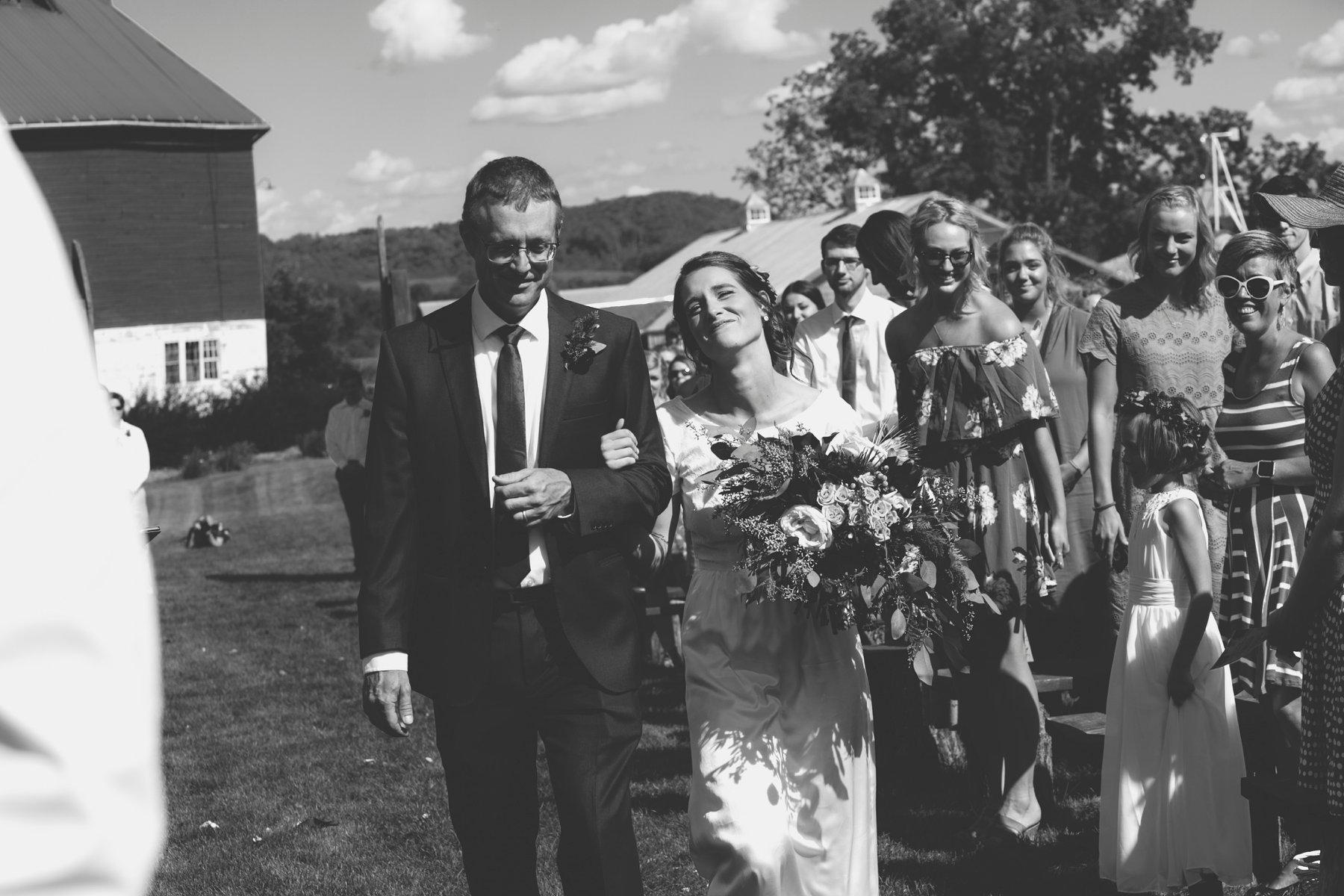 Emma + Kyler - Pepin Hidden Meadow Barn Wedding