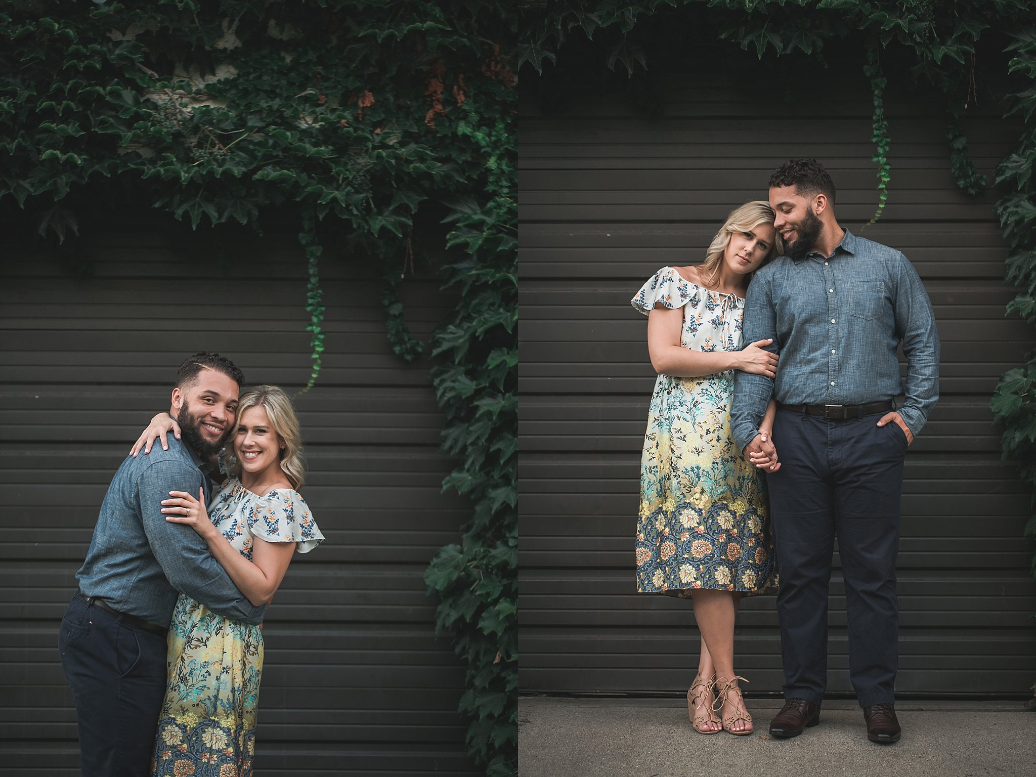 Hilary + Keaton - Modern and Simple City Engagements