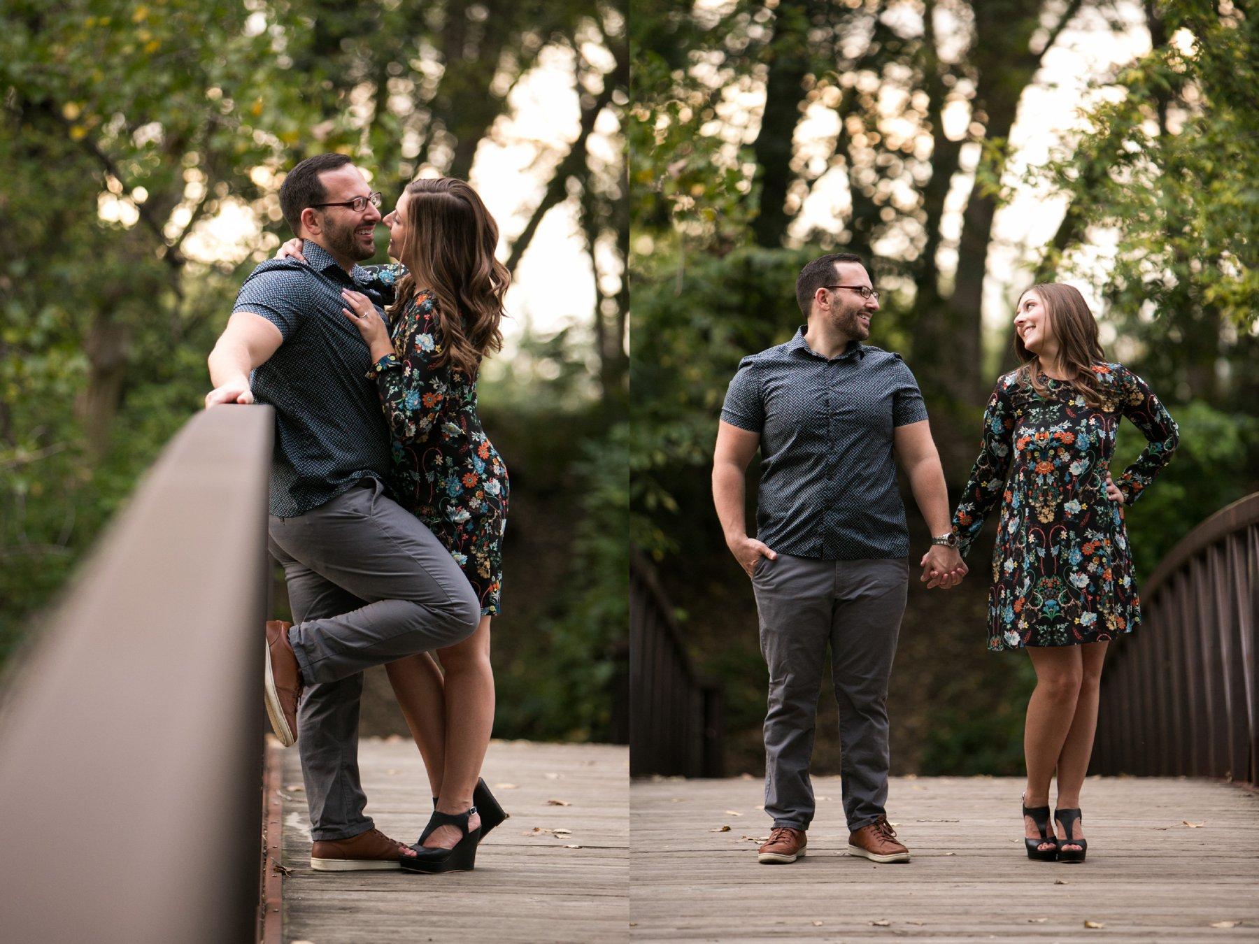 Allie + Garrett - Urban Chic Big City Engagements