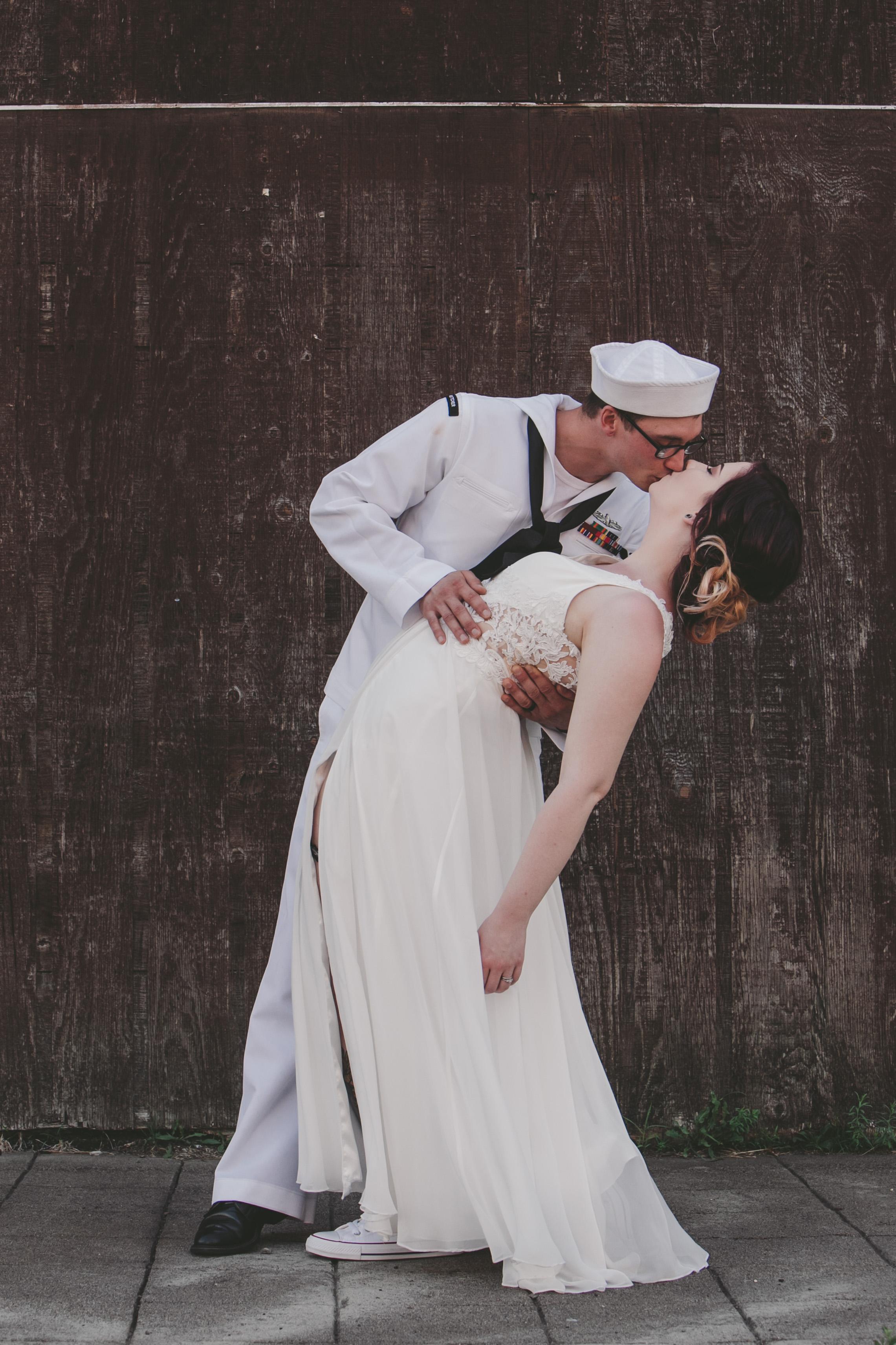 Amber + Dakota - Dramatic and Romantic Outdoor Wedding