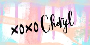 xoxo cheryl