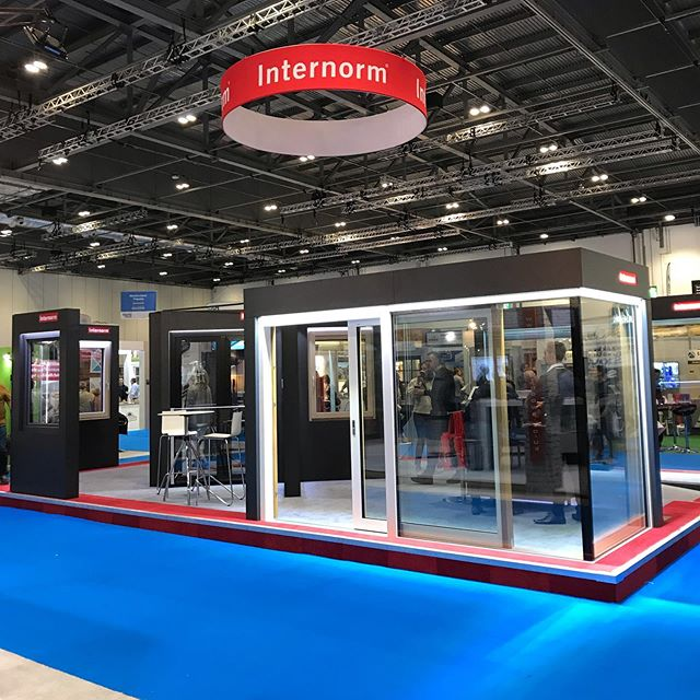We are exhibiting at @myhomebuilding today at the @excellondon. Come and experience the smart and elegant integration of @internorm_uk windows and doors with a @loxoneuk #SmartHome. Featuring #keyless #access and #automated #shading.