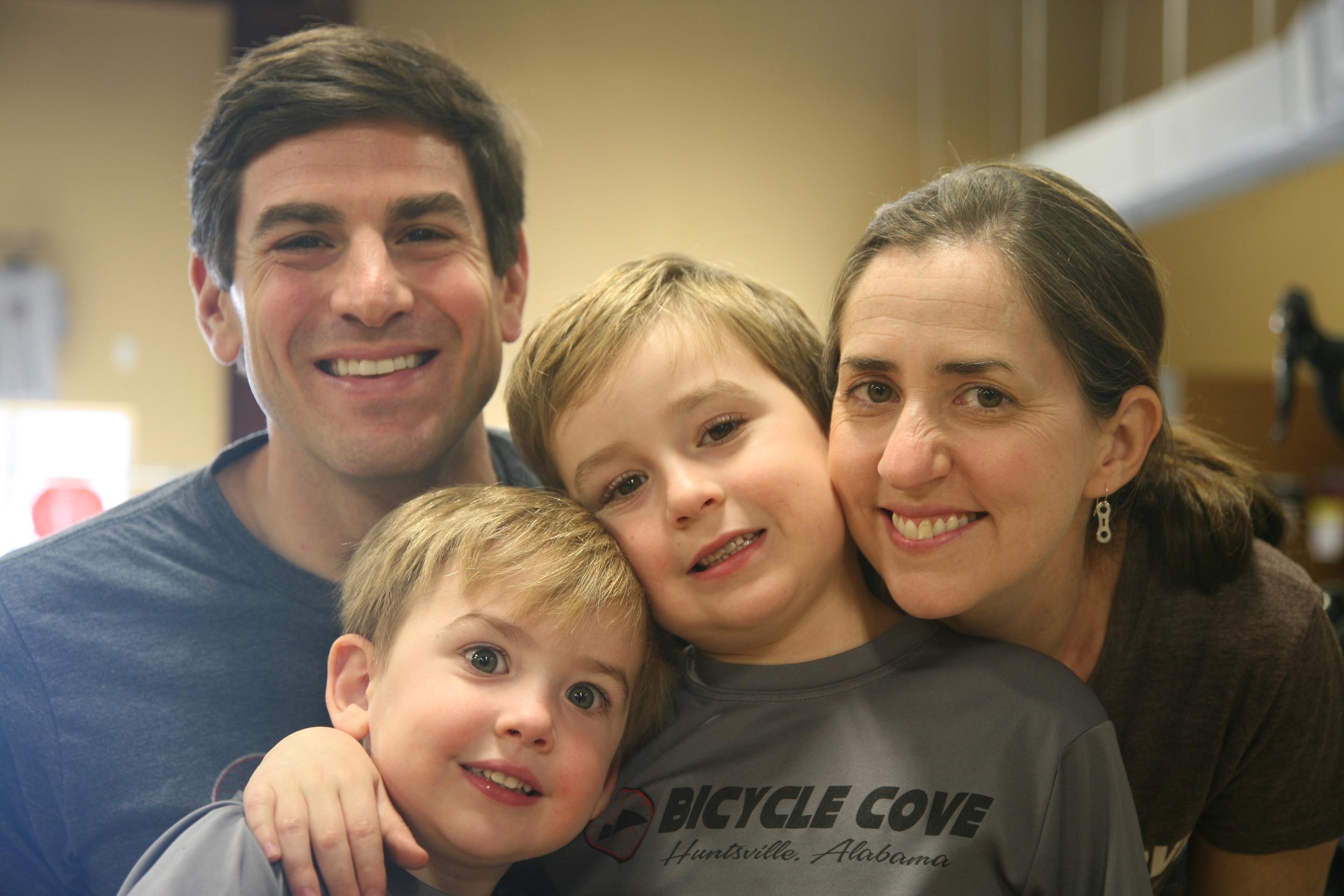 Chris, Jacob, Max and Jessica