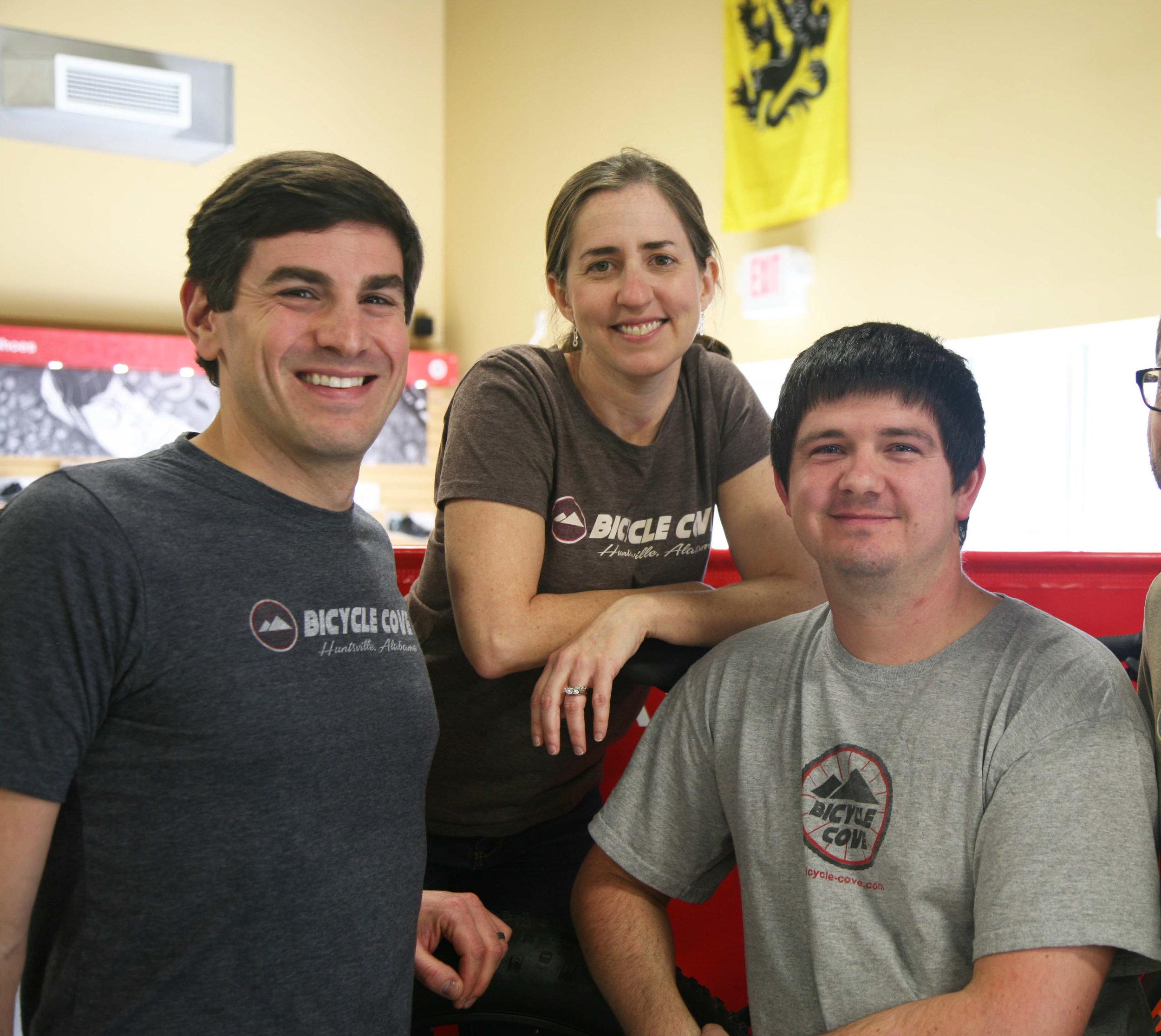 Chris, Jessica and Nick