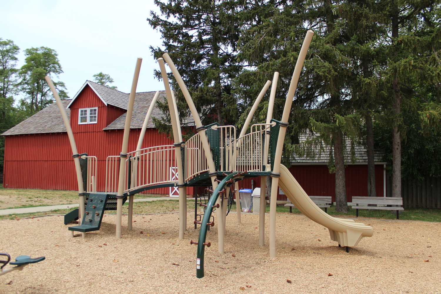 Outdoor Playground at Conner Prairie