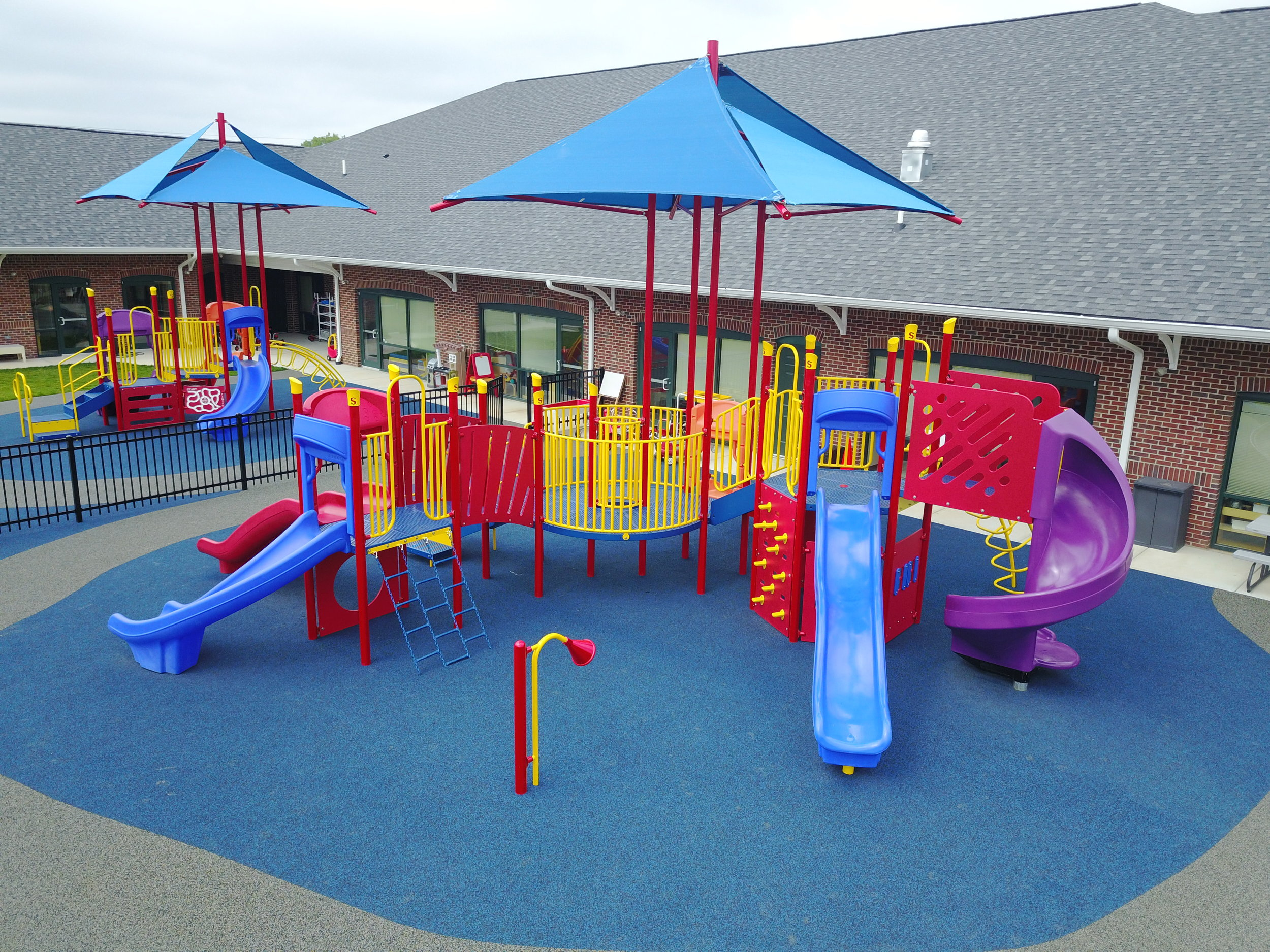 Custom Outdoor Playground at Rainbow Station